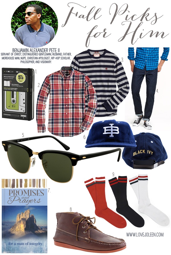 Ben's Picks for Him : Fall Edition