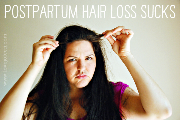 Postpartum Hair Loss Sucks