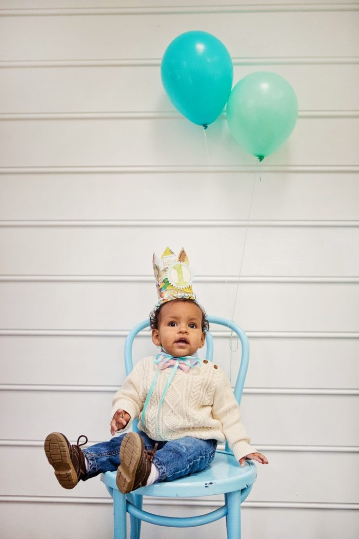 Benjamin's Vintage Storybook First Birthday Party Photos | Whitney Huyhn Photography