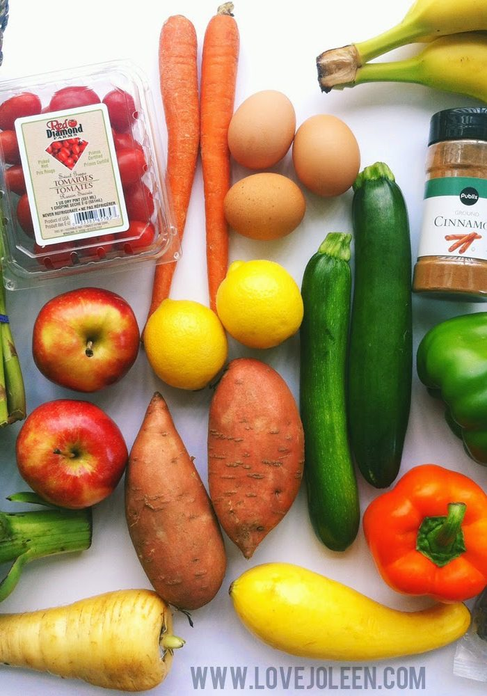 Whole30   Basic Meals Grocery List
