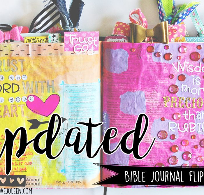 Updated Bible Journal Flip Through Favorites + Video