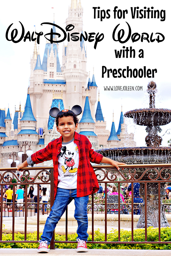 Tips for Visiting Walt Disney World with a Preschooler