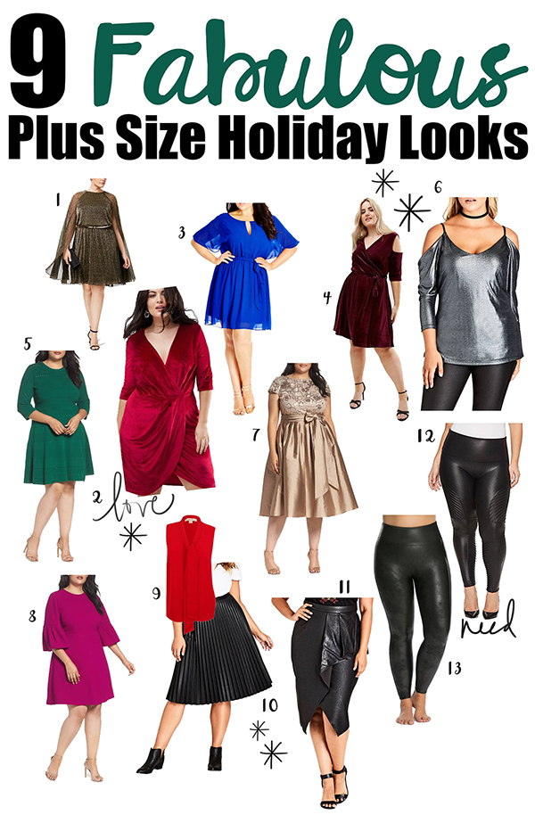 9 Fabulous Plus Size Holiday Looks