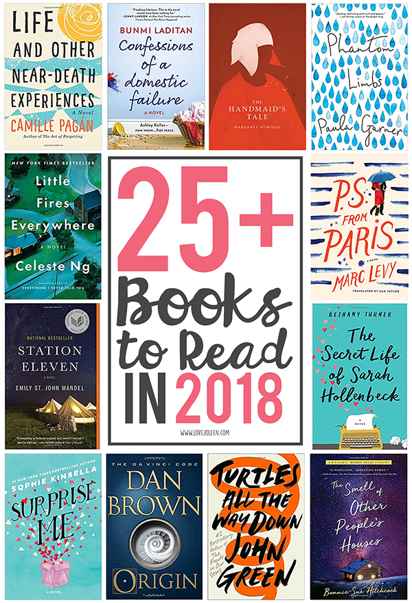 25+ Books I'm Reading in 2018