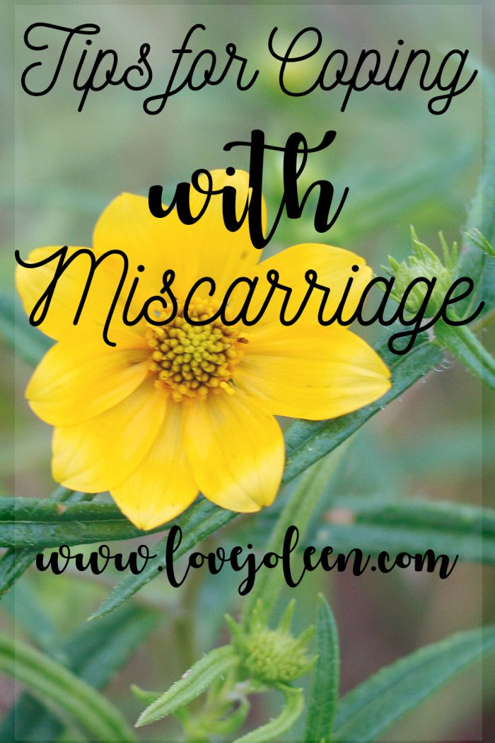 Tips for Coping with Miscarriage