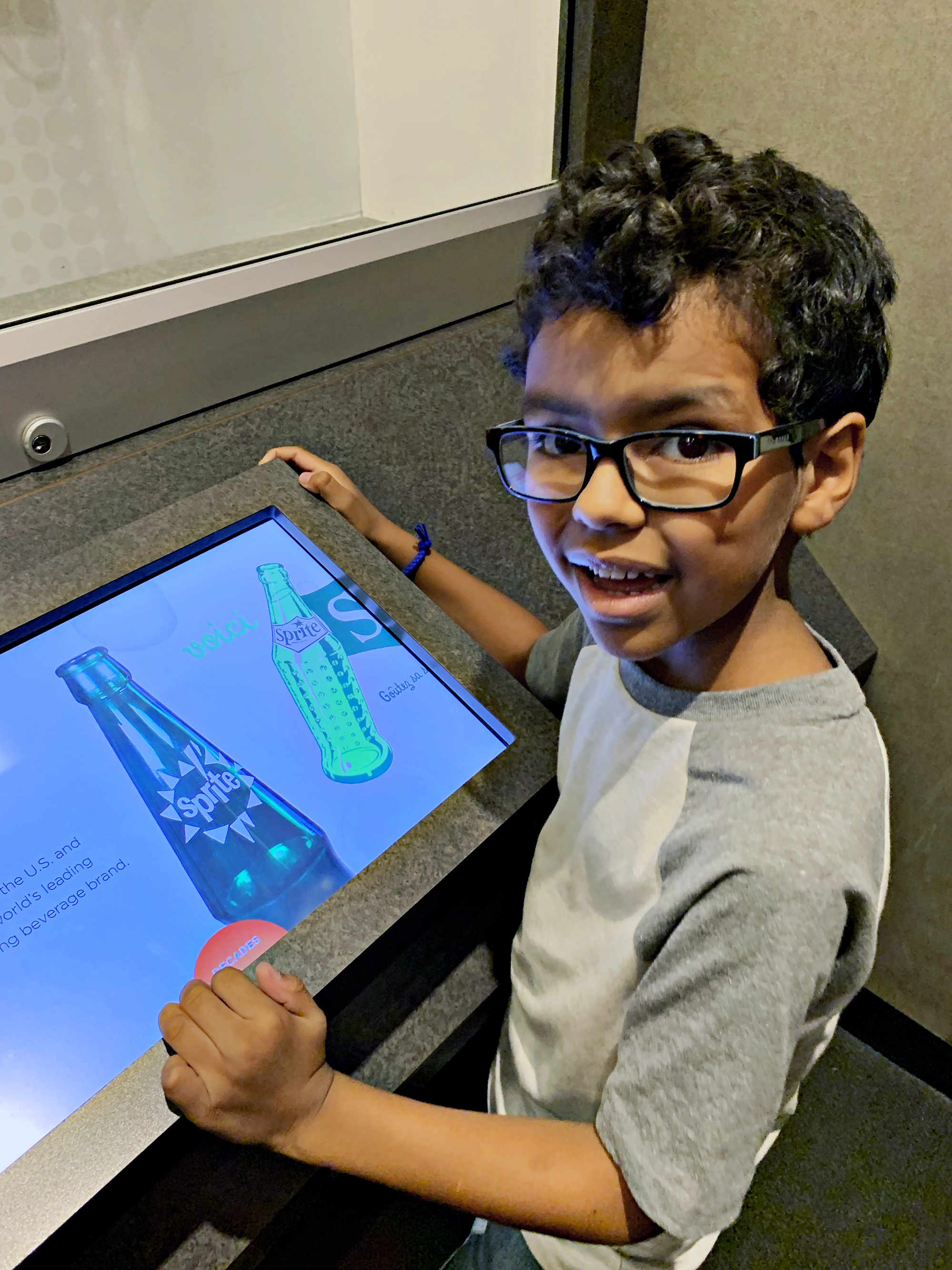 lots of fun hands on activities for kids at World of Coca-Cola