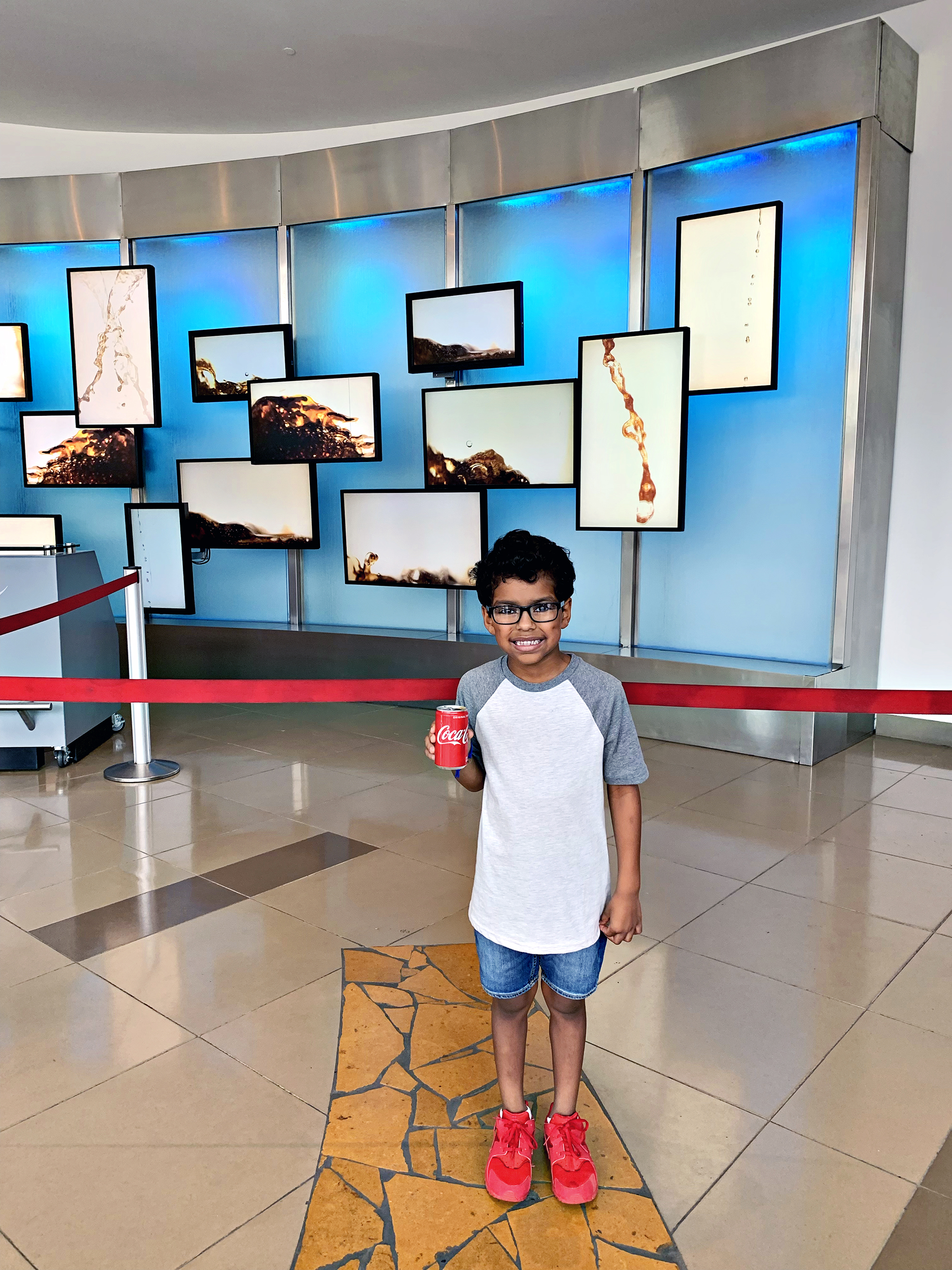 Enjoy a variety of coke products at World of Coca-Cola