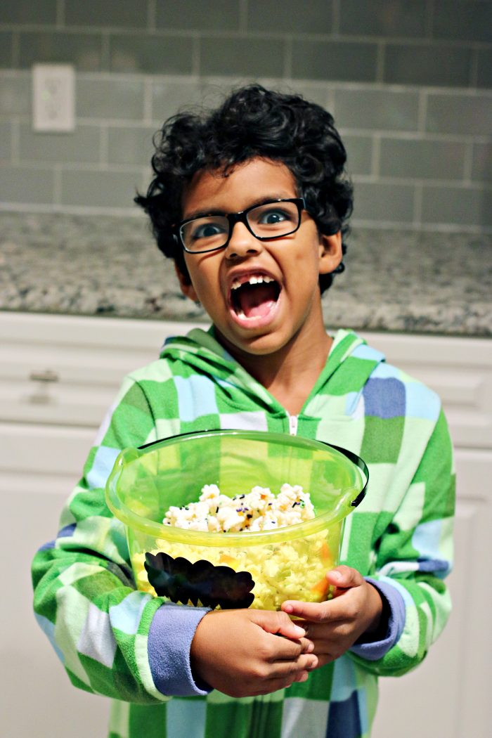 Easy Halloween Party Treat: Monster Mash Popcorn Recipe