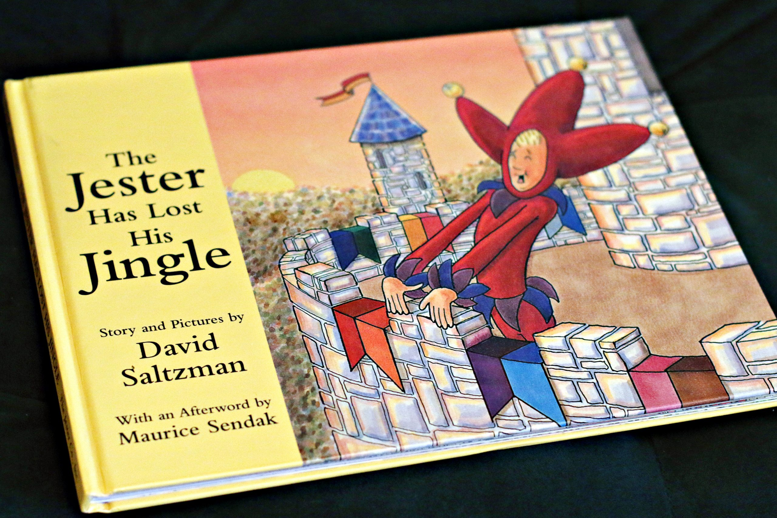 "The children's book, ""The Jester Has Lost His Jingle"" bu David Saltzman."