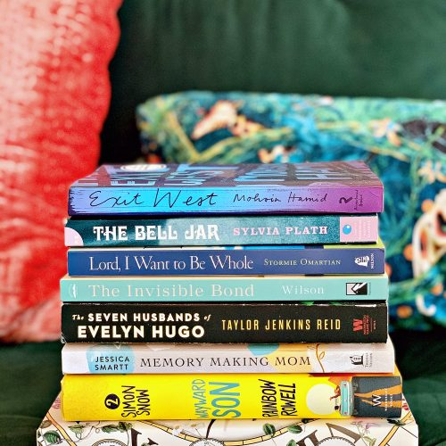 Stack of books to read in 2020