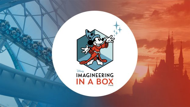The logo for Disney's Imagineering in a Box program.