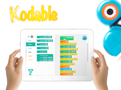 Kodable app for teaching kids to code.
