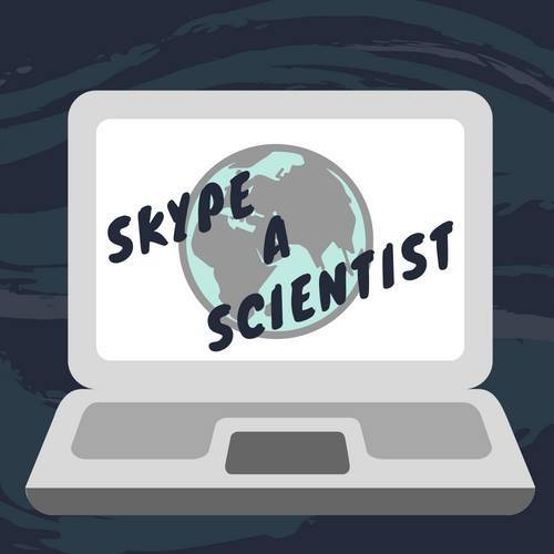 The logo for Skype a Scientist.