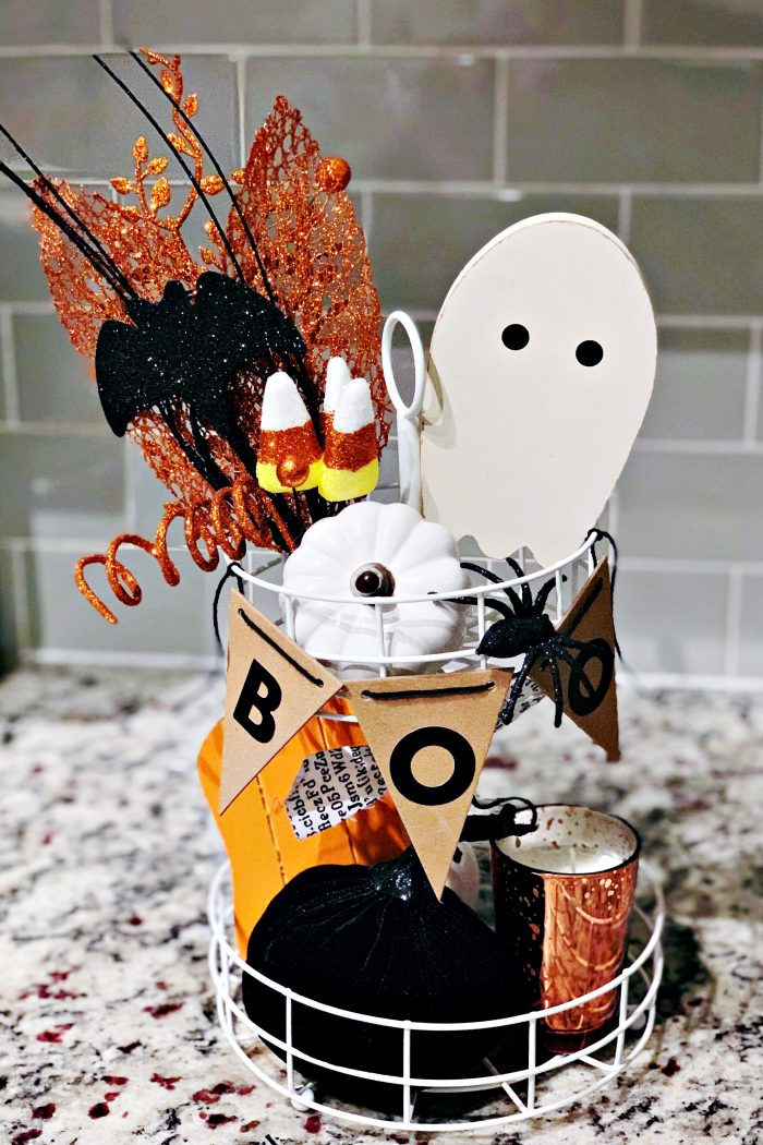 Budget-Friendly Halloween Tiered Tray & Coffee Cart Decor Ideas
